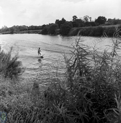 Water Skiing, River Ouse, Cawood